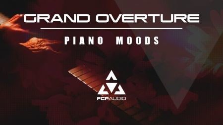 image of grand overture piano moods soundstack artwork of a man playing the piano royalty free piano music