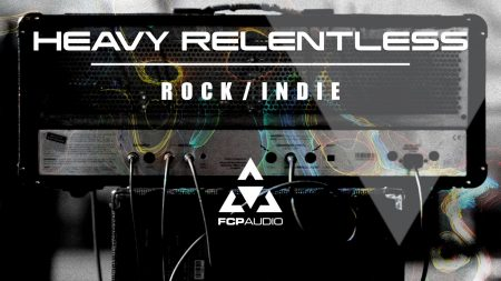 image of heavy relentless rock indie soundstack artwork of a guitar amp royalty free rock music