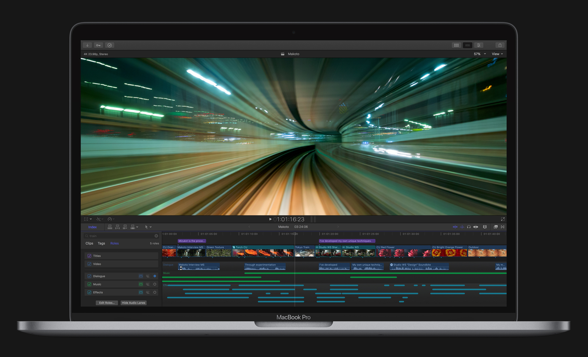 Final Cut Pro Audio Editing
