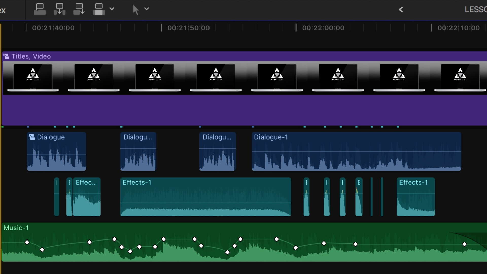 Final Cut Pro Audio Editing And Mastering | FCP Audio | FCPX