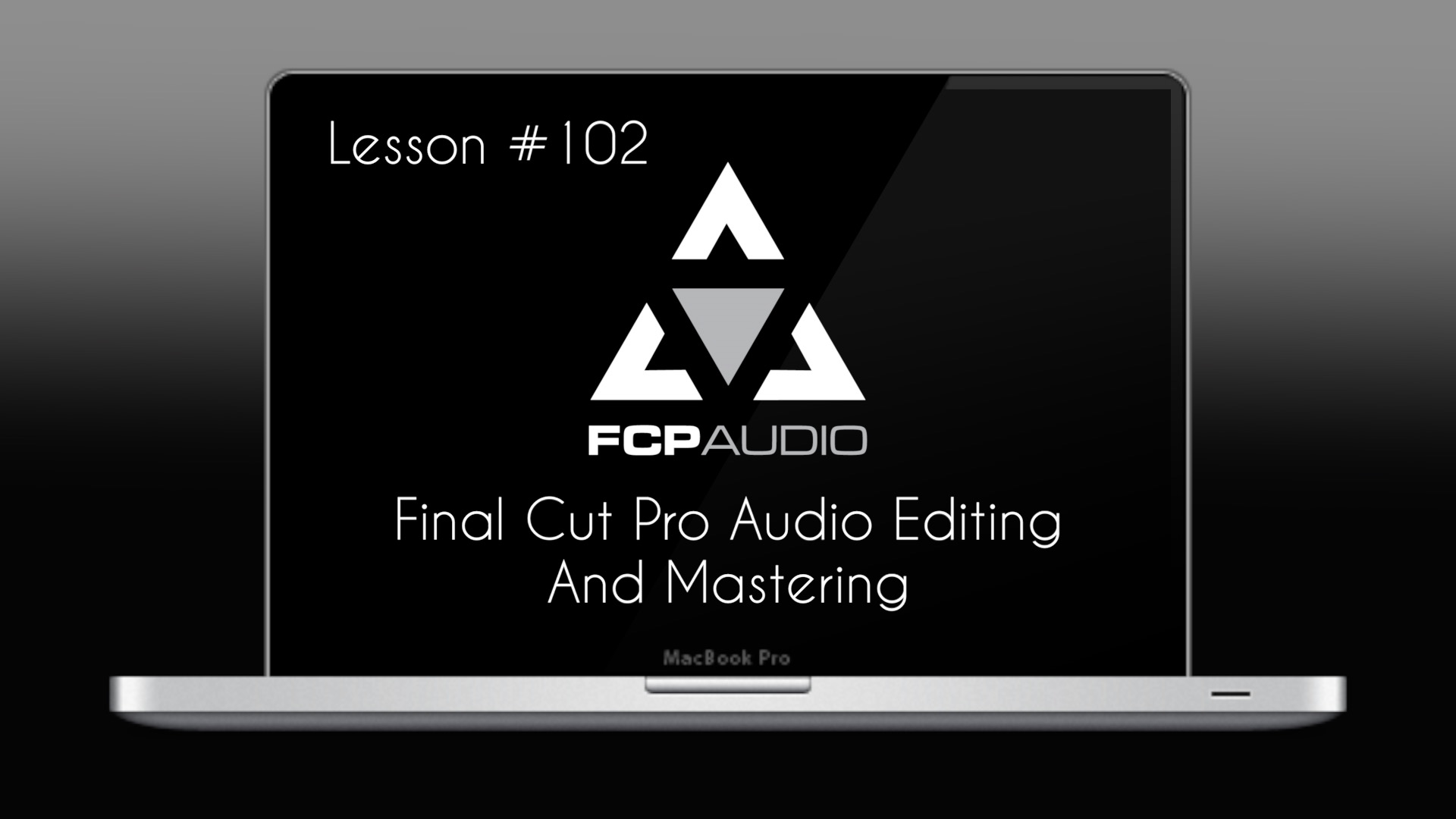Final Cut Pro Audio Editing