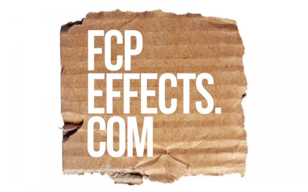 FCP Effects | Final Cut Pro X Plugins | FCP Audio