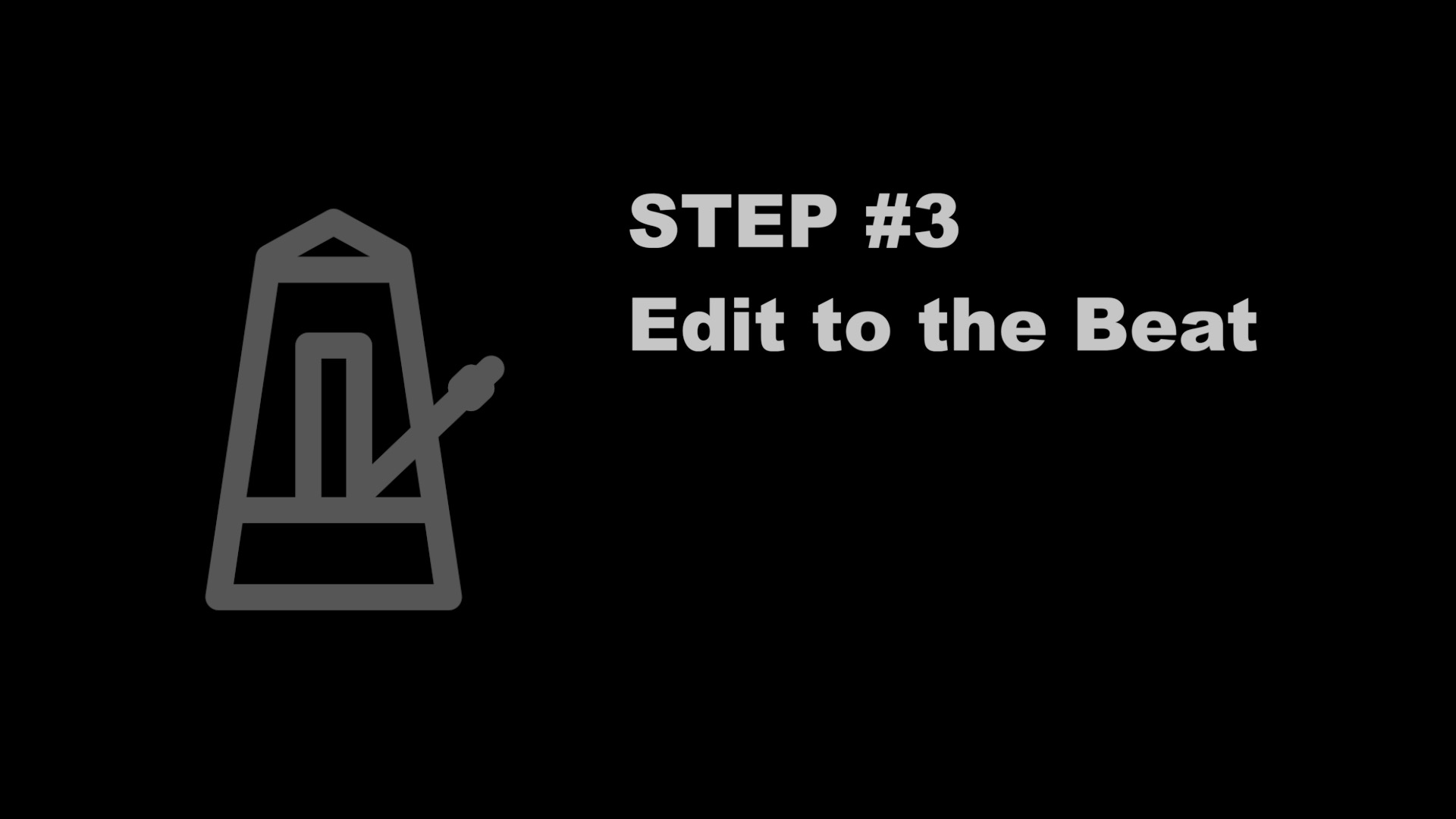 FCPX Tutorial | Step 3 Edit to the Beat | FCP Audio