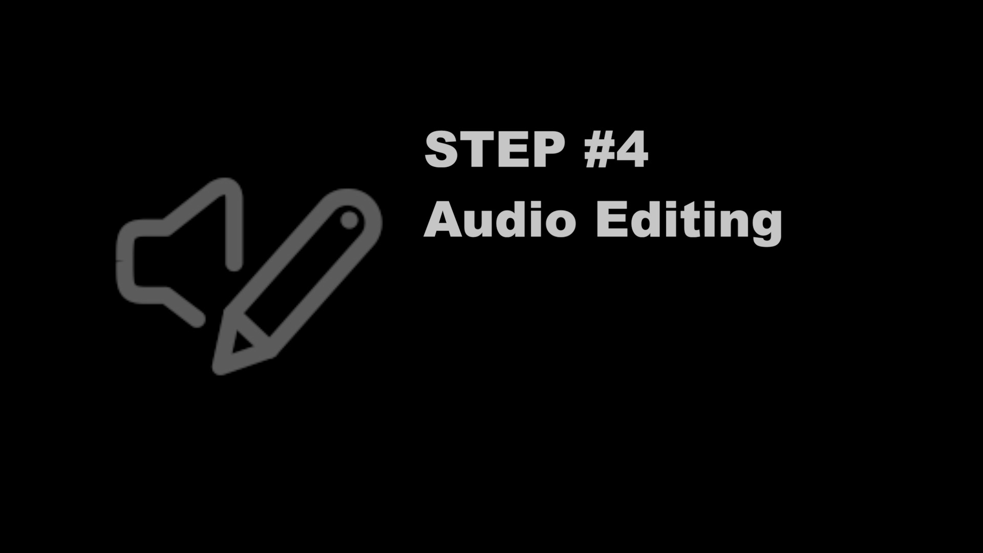 Final Cut Pro Training | Step 4 Audio Editing | FCP Audio