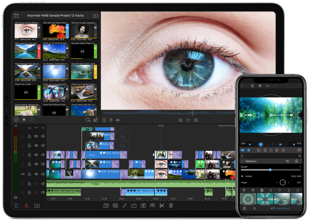 Lumafusion  video editing apps