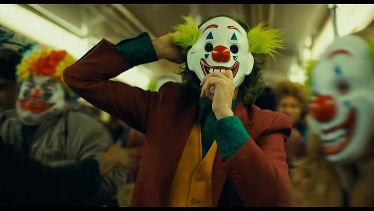 joker movie scene still clowns sound for visuals